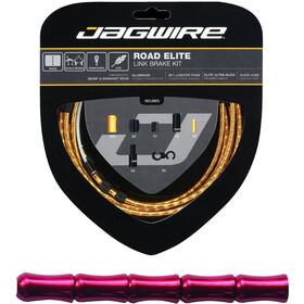 Jagwire Road Elite Link Kit de câbles de frein, red